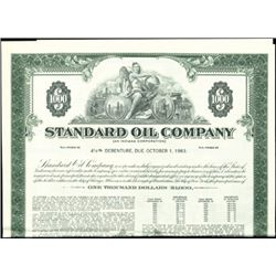 Standard Oil Company Registered Bonds