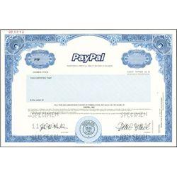 PayPal Edify Palm, Inc. Stock Specimens (3)
