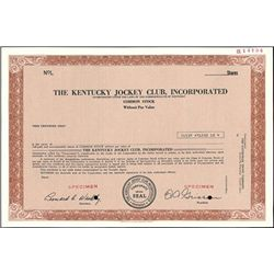 The Kentucky Jockey Club, Inc.