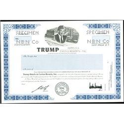 Trump Hotels & Casino Resorts, Inc. Duo