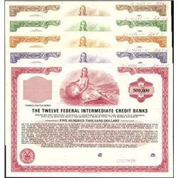 The Twelve Federal Intermediate Credit Banks Gover