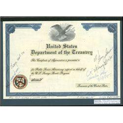 U.S. U.S. Department of the Treasury Savings Bonds