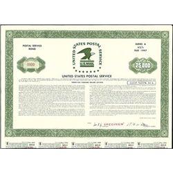 United States Postal Service Coupon Bond,