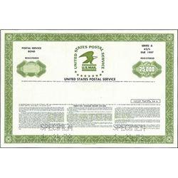 United States Postal Service Registered Bond (2),