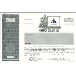 AOL Stock Certificate Group