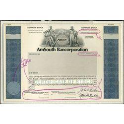 Amsouth Bancorporation Production File,
