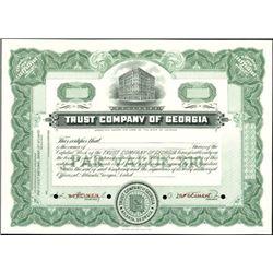 Trust Company of Georgia Stock Specimens (3),