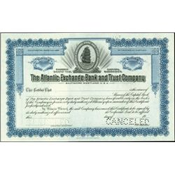 Attractive Baltimore Banking Stock Specimens (2),