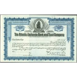 The Atlantic Exchange Bank and Trust Company,