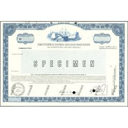 Southern Bank Stock Certificate Group,