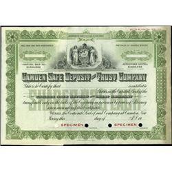 Pennsylvania and New Jersey Bank Stocks (4),