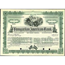 Hungarian American Bank of New York,
