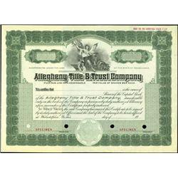 Pennsylvania Banking Assortment (4),
