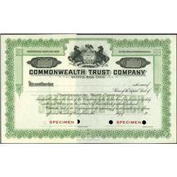 Pennsylvania Building & Loan Stock Specimen Group