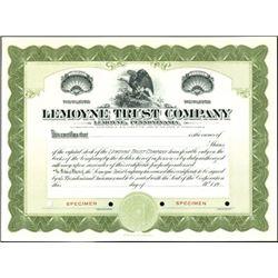 Pennsylvania Trust Company Bank Stocks,