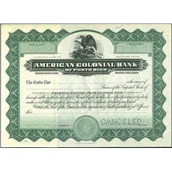American Colonial Bank of Porto Rico,