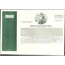 Firstbank Puerto Rico Proof Stock,