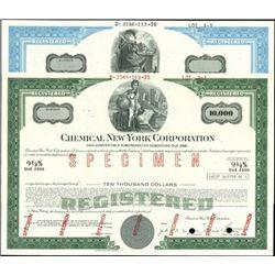 Chemical New York Corp. Registered Bonds,