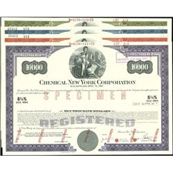 Chemical New York Corp. Registered Bonds - Notes,