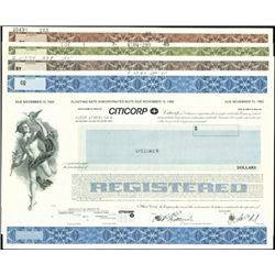 Citicorp Registered Notes-Bonds,