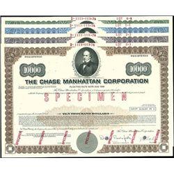 The Chase Manhattan Corp. Registered Bond Assortme