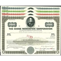 The Chase Manhattan Corp. Registered Bonds,