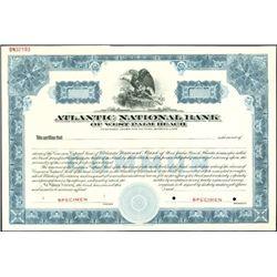 Atlantic National Bank of West Palm Beach Specimen