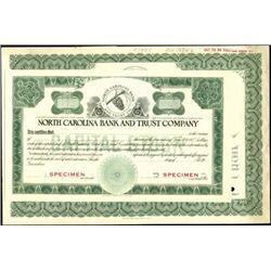 North Carolina Banking Duo,