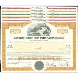 Bankers Trust New York Corporation Bond group