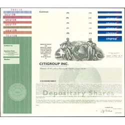 Citicorp Transition to Citigroup Inc. Depositary S