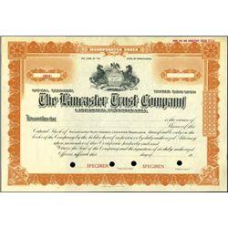 Pennsylvania Bank & Trust Co. Assortment (6),