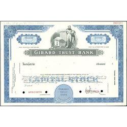 Pennsylvania Bank Stock Specimens (3),