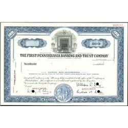 Pennsylvanian Banking Group of Specimens (3),