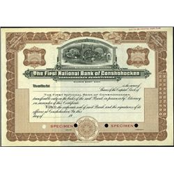The First National Bank of Conshohocken,