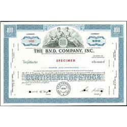 The B.V.D. Company, Inc.,