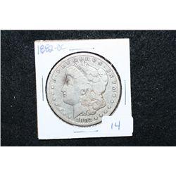 1882-CC Silver Morgan $1