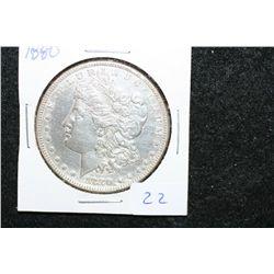 1880 Silver Morgan $1