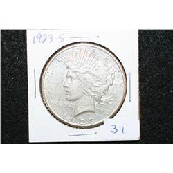 1923-S Peace $1