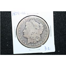 1879-CC Silver Morgan $1