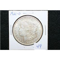 1921-D Silver Morgan $1