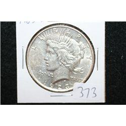 1923-D Peace $1
