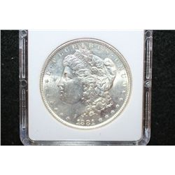 1881-S Silver Morgan $1; MCPCG Graded MS65