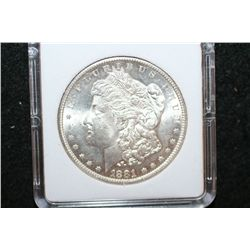 1881-S Silver Morgan $1; MCPCG Graded MS63