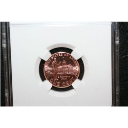2009-D Lincoln-Professional Life Penny; NGC Graded Brilliant Uncirculated