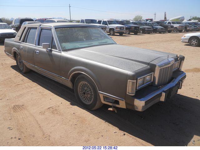 1986 lincoln town car rod robertson enterprises inc 2015 Lincoln Town Car image 1 1986 lincoln town car
