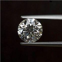 0.80 ctw Diamond Round H-I S2/I1