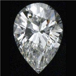 DIAMOND EGL CERTIFIED Pear 1.04 CTW E, SI2