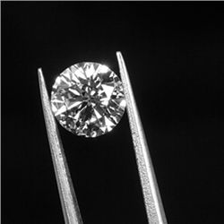Diamond GIA Certificate# 1146095587 Round 1.01ct H,SI1