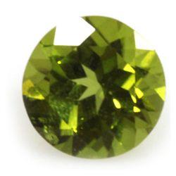 Natural 5.07ctw Peridot Round 10x10 Stone