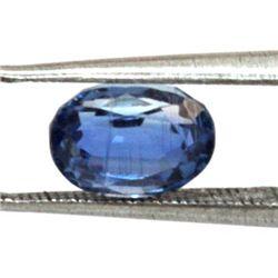 Natural Oval Cut Kyanite Loose Stone 3.42 CTW.